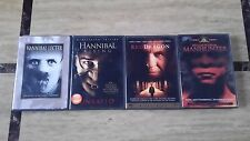 (5) HANNIBAL LECTER DVD Movies: (1986-2002) Silence Of The Lambs, Hannibal ETC
