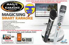 Magic Sing Karaoke BUILT-IN  5145 MIX TAGALOG ENGLISH WITH BOOK +1YR STREAMING
