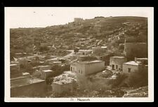 Israel NAZARETH early unposted General view RP PPC