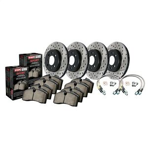 StopTech 978.63001 StopTech Sport Brake Kit Fits 300 Challenger Charger Magnum