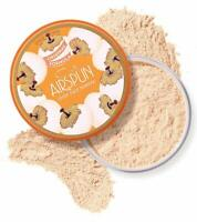 LOOSE FACE POWDER AIRSPUN Translucent Extra Coverage Makeup Foundation 2.3 oz