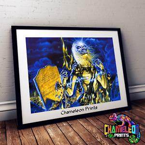 Iron Maiden Skeleton Poster A4/A3 Iron Maiden Poster