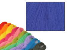 CYBERLOXSHOP PHANTASIA KANEKALON JUMBO BRAID CYAN NIGHT BLUE HAIR DREADS