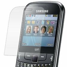 Samsung S3350 Chat 335 - 1x film de protection semi rigide + chiffon doux