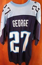TENNESSEE TITANS beat-up Eddie George med football jersey NIKE nylon