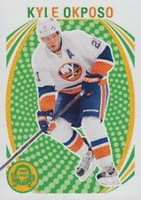 13-14 O-Pee-Chee BLANK BACK Kyle OKPOSO #297 - Islanders