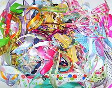 Job Lot ~ 20 x 1m lengths of Mixed Ribbons ~ 3mm-40mm ~ Top Quality
