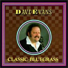 Dave Evans - Classic Bluegrass [New CD]