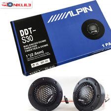 Alpine DDT-S30 180W Car Tweeter 1-Inch Speaker Silk Dome Audio Component