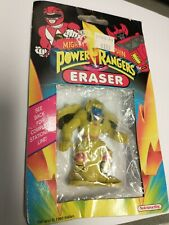 Vintage 1993 Mighty Morphin Power Rangers Eraser New in Package.