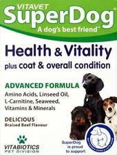 Vitavet Superdog Health & Vitality Tablets 30s