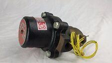 """Jd Gould Gasoline Diesel Bronze General Purpose Valve 1/2"""" 120 Volts TYPE Q 230"""