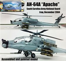 Boeing AH-64 Apache helicopter National Guard 1/72 no diecast plane Easy model