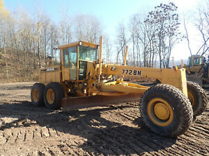 1996 John Deere 772BH Motor Grader ALL WHEEL DRIVE! FRESH ENGINE! AWD EROPS
