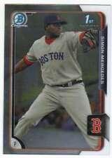 2015 Bowman Chrome Prospects #BCP-215 Simon Mercedes Boston Red Sox