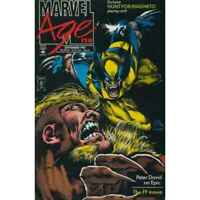 Marvel Age #128 in Near Mint condition. Marvel comics [*pb]
