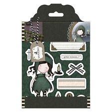 NIGHTLIGHT-Docrafts Santoro Gorjuss Rubber Stamp-Stamping Craft-Tweed Girls
