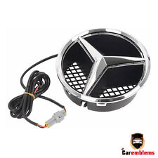 Mercedes Benz LED Light Front Grille Star Logo Emblem C/GLK/B/GLK/CLK/CLS Class