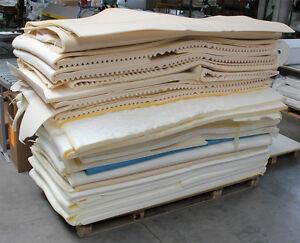Schaumstoff Sitzpolster Platten Auflagen Dämmung Akkustik, eine Palette voll