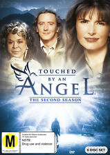 TOUCHED BY AN ANGEL - THE SECOND SEASON [NTSC REGION 0] (6DVD) NOT SEALED