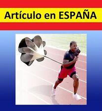 PARACAIDAS entrenamiento POTENCIA futbol correr running resistencia velocidad