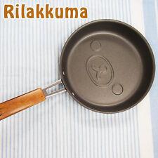 Rilakkuma Face Shaped Pancake Pan Frying Pan Cake Kids Snack Cookware Black BIN