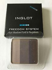 Inglot libertà sistema Eyeshadow ARCOBALENO Matte * 117 * - RICARICA NUOVO IN SCATOLA ORIGINALE