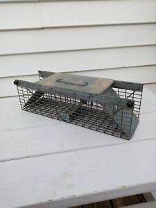 Havahart Live Trap 17 x 6 x 6  Squirrel Rabbit Skunk Chipmunk Pre-owned