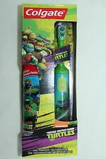 Teenage Mutant Ninja Turtles Colgate Fruit Toothpaste Green Powered Toothbrush