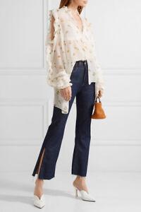 Magda Butrym silk blouse in size 36, Aus 8