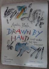 QUENTIN BLAKE artist EXHIBITION POSTER Fitzwilliam Museum Cambridge Roald Dahl