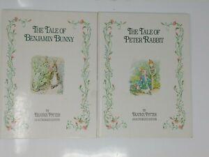 The Tale of Peter Rabbit & Benjamin Bunny By Beatrix Potter 1991 Children's Book
