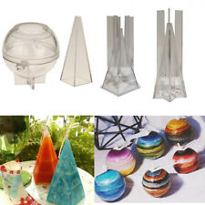 Gift Craft Clay Tools DIY Plastic Candle Mold Soap Handmade