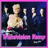 TRANSVISION VAMP - POP ART (RE-PRESENTS) 2 CD 32 TRACKS ROCK POP NEW