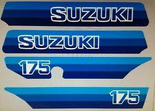 SUZUKI PE175 PE 175 1980 1981 FULL PAINTWORK DECAL KIT
