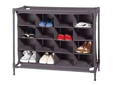 Schuhschrank Schuhregal Schuhständer Schuhablage Regal System 16 Schuhe TOP