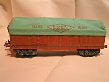 TRAINS HORNBY/MECCANO (ech/scale O 1/43)  - TOMBEREAU BÂCHE St FRERES
