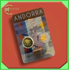 """2 Euro € Gedenkmünze Coin Coins Andorra 2015 BU """" 25 Jahre Zollunion """" Coin Card"""