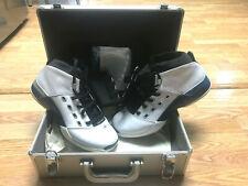 Vintage NIB Nike Air Jordan XVII 2002 Mens Shoes Silver Hard Case