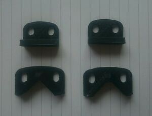 NEW Colchester lathe Bed Way / carriage Wipers For Chipmaster & Bantam Mk1 & 2
