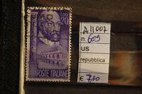 FRANCOBOLLI ITALIA REPUBBLICA USATI N. 609 (A11007)