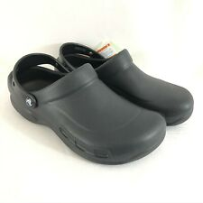 Crocs Unisex Specialist Clogs Roomy Black Mens Size 10 or Womens Size 12
