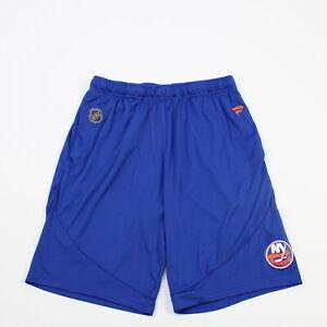 New York Islanders Fanatics  Athletic Shorts Men's Blue Used