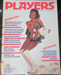 PLAYERS VOLUME 7 # 2 VINTAGE AFRICAN AMERICAN COLLECTABLE MAGAZINE
