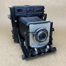 Beseler 4x5 Type C-6 Large Format Military Camera W/ 135mm 4.7 Optar - Rare