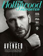 The Hollywood Reporter Magazine Chris Evans Captain America NEW