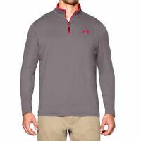 Under Armour Mens Long Sleeve Top 1/4 Zip T-Shirt Tee Gr. M