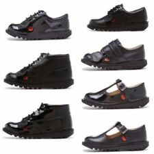 Chaussures Kickers à boucle en cuir pour garçon de 2 à 16 ans