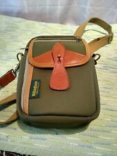 Billingham10×7×3 camera Shoulder Bag ( Canvas/Leather) mint made in England
