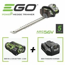 EGO 61cm Battery Power Cordless Lightweight Hedge Trimmer 2Ah 56V lithium Ion